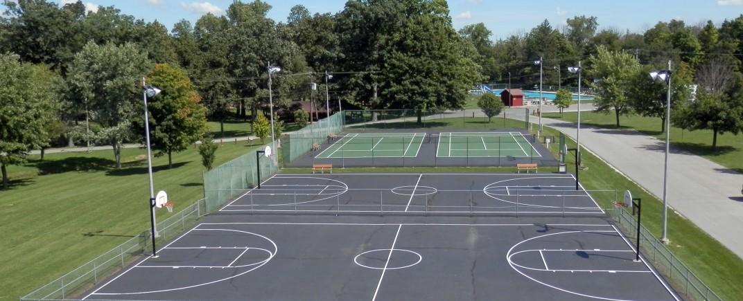 Basketball Court Meadowbrook Park